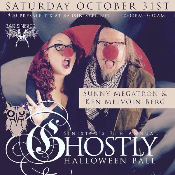 7th ANNUAL GHOSTLY HALLOWEEN BALL - Bar Sinister, Los Angeles @ Bar Sinister | Los Angeles | California | United States